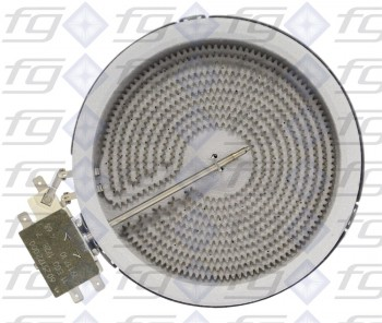 10.54111.004 E.G.O.  Einkreis HiLight-Heizkörper