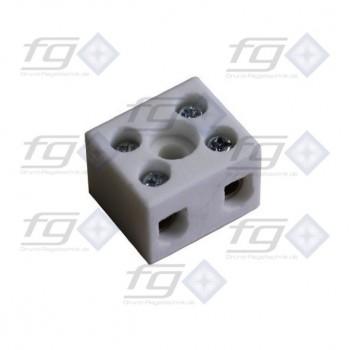 Porcelain terminal block