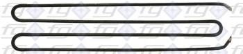 Grillplatten-Heizkörper