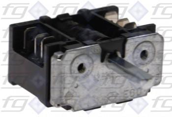 42.02900.003 E.G.O. Rotary cam switch 2-pole