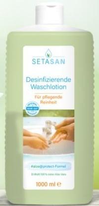 SETASAN Waschlotion