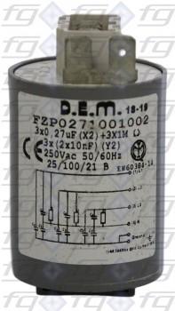 Entstörfilter  Typ 411.13.5901D