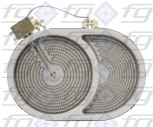 10.57411.604 E.G.O. Bräterzone-HiLight-Strahlungsheizkörper