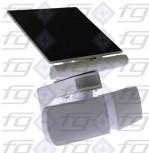 Solar-LED-Außenleuchte mit Bewegungsmelder- / Lichtsensor