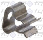 Probe clamping spring